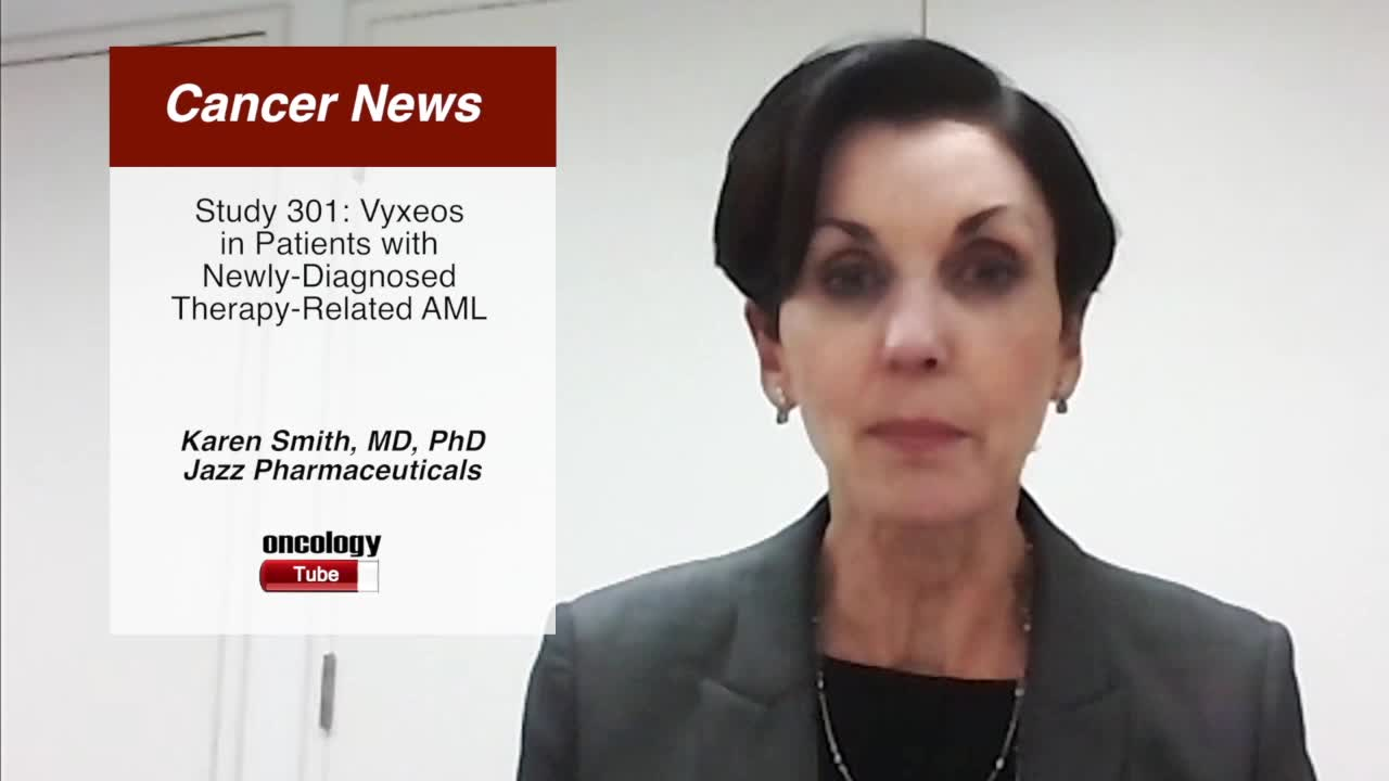 Study 301: Vyxeos in Patients with  Newly-Diagnosed Therapy-Related AML