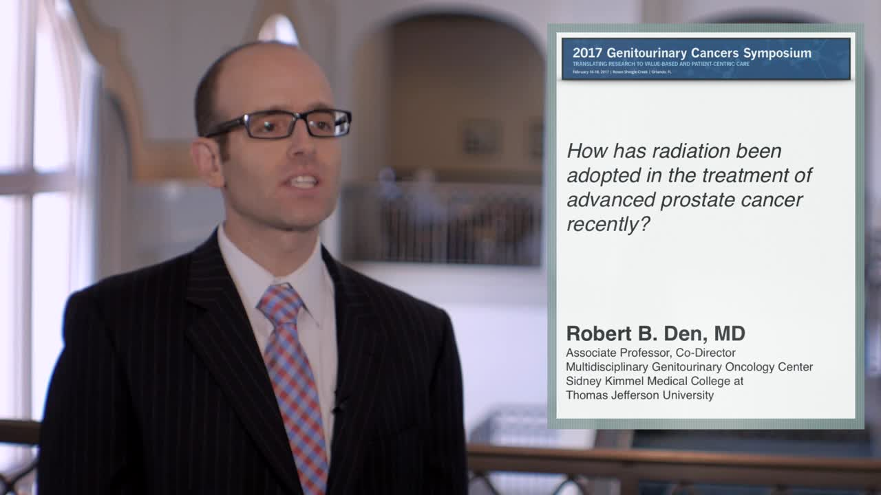 Use of Radiation for Advanced Prostate Cancer Treatment