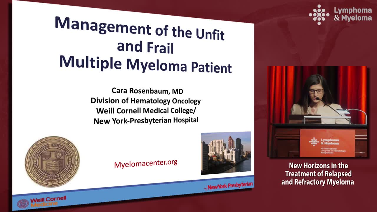 Management of the unfit and frail patient