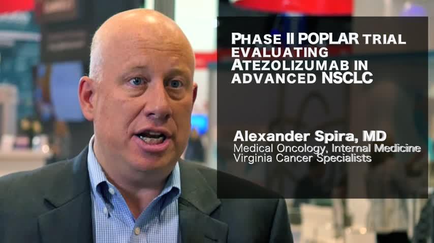 Phase II POPLAR trial evaluating Atezolizumab in advanced NSCLC