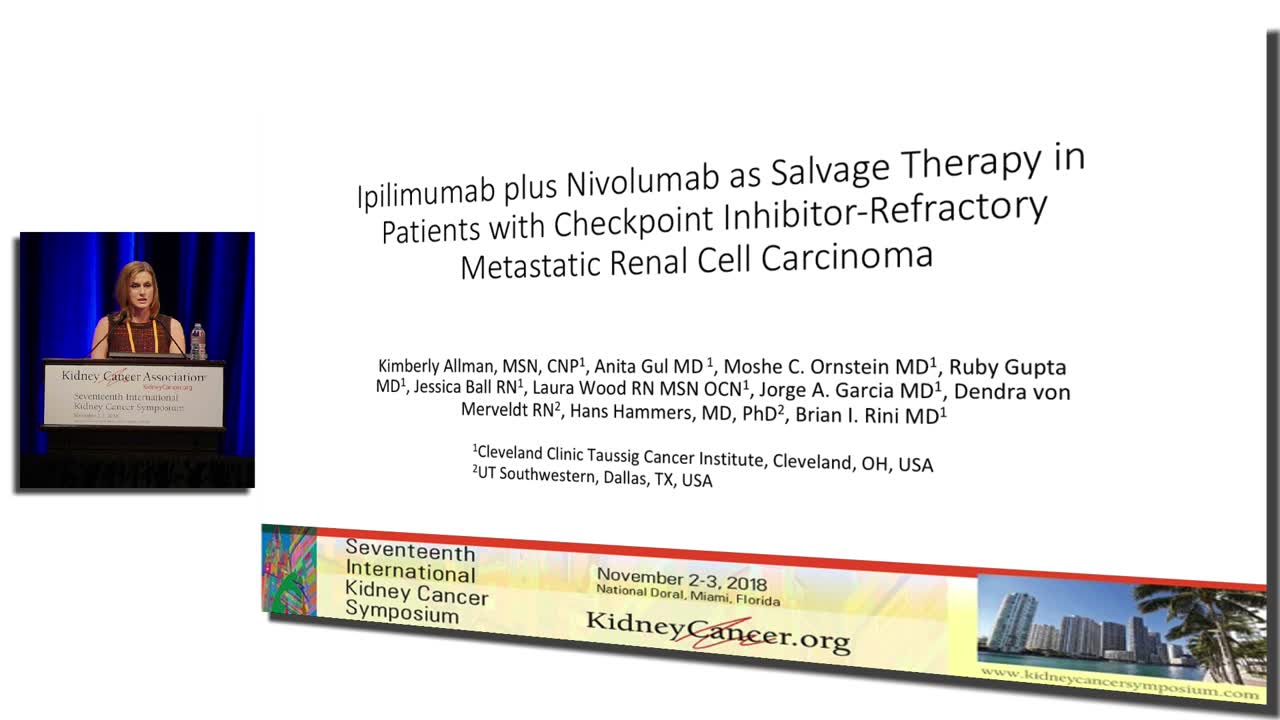 Ipilimumab  plus  Nivolumab  as  Salvage  Therapy  in  Patients  with  Checkpoint  Inhibitor-Refractory  Metastatic  Renal  Cell  Carcinoma