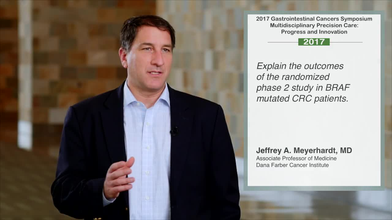 Randomized Phase 2 Study in BRAF Mutated CRC Patients