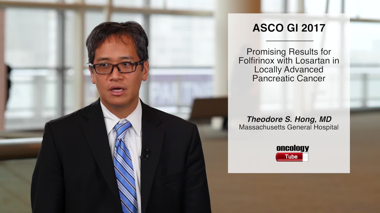 Promising Results for Folfirinox with Losartan in Locally Advanced Pancreatic Cancer
