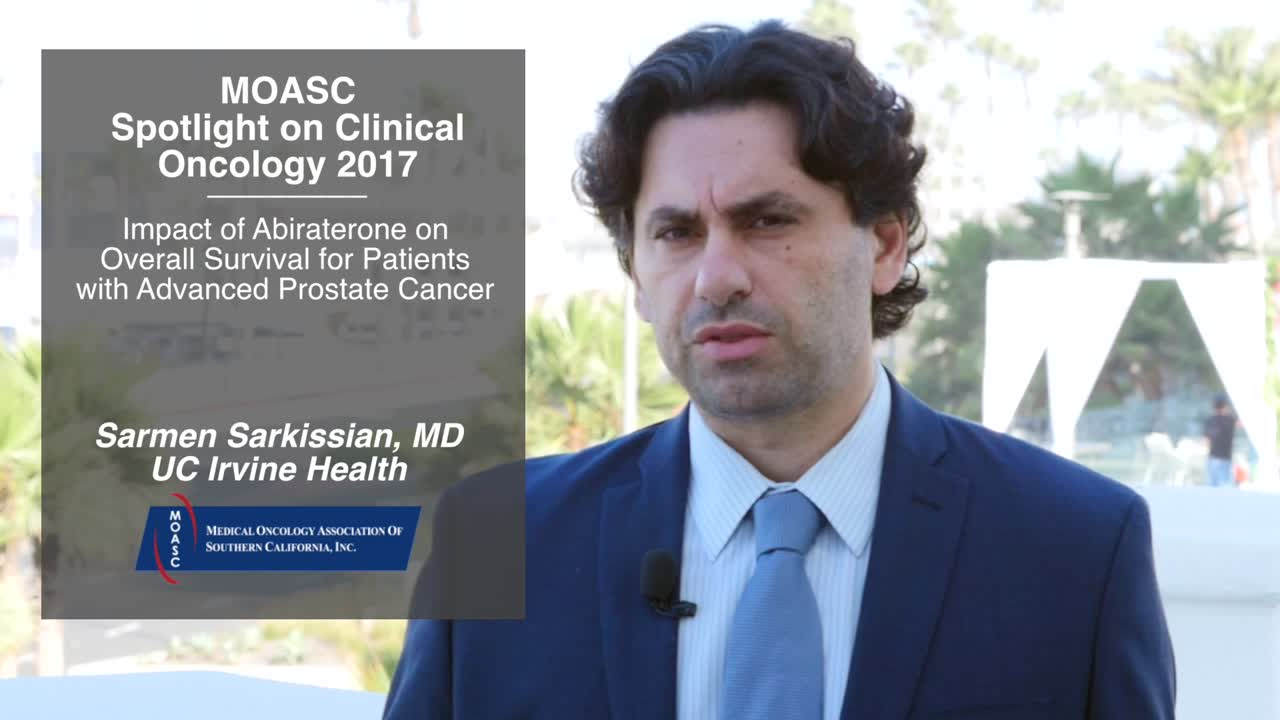Impact of Abiraterone on Overall Survival for Patients with Advanced Prostate Cancer