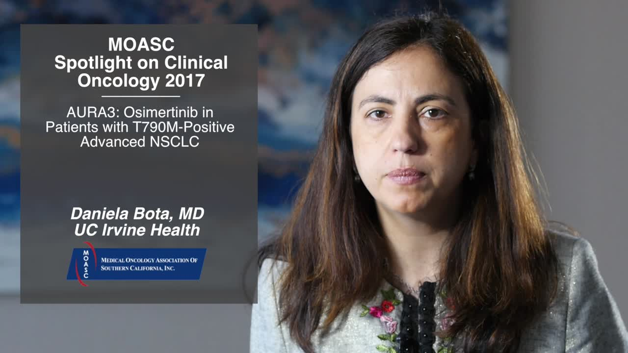 AURA3: Osimertinib in Patients with T790M-Positive Advanced NSCLC