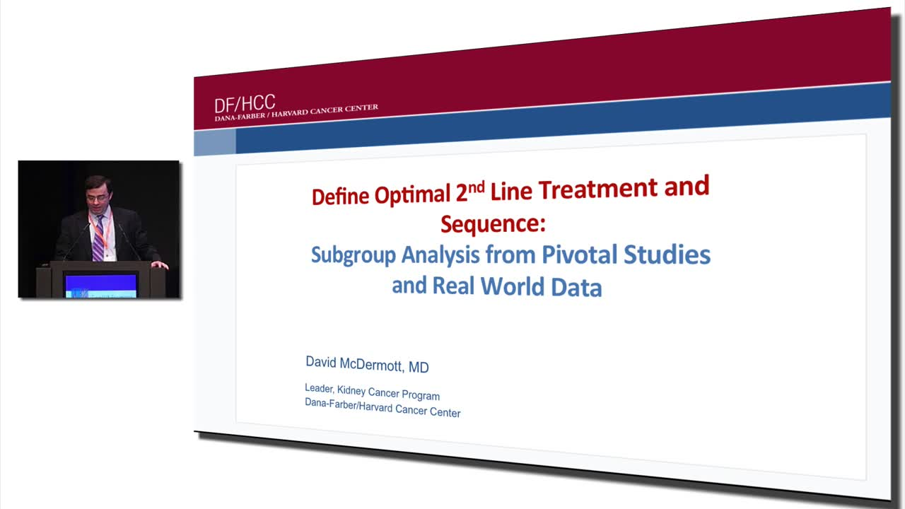 Define Optimal 2nd Line Treatment and Sequence:  Subgroup Analysis from Pivotal Studies and Real World Data
