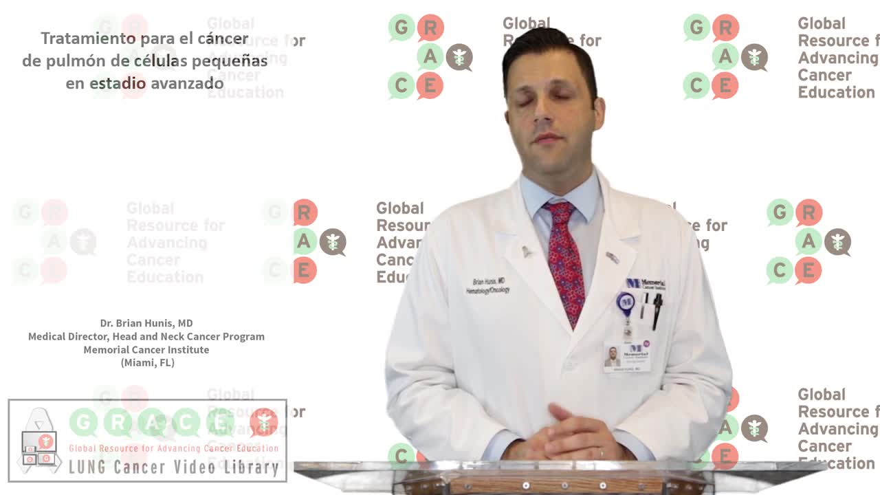 SLCVL - Hunis 8 Treating Later Stage Small Cell Lung Cancer