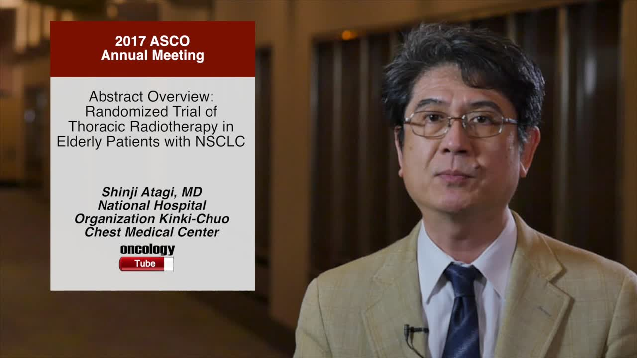 Abstract Overview: Randomized Trial of Thoracic Radiotherapy in Elderly Patients with NSCLC