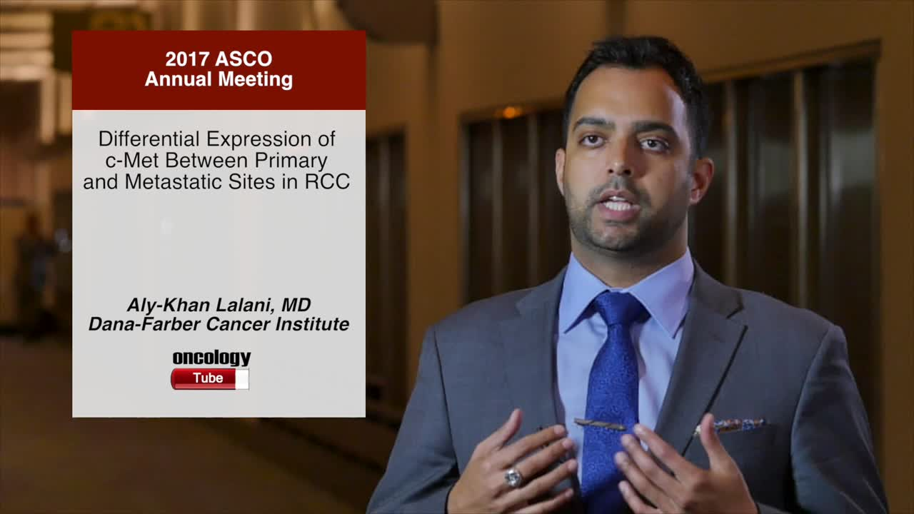 Differential Expression of c-Met Between Primary and Metastatic Sites in RCC
