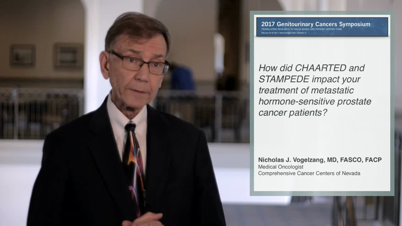 Metastatic Prostate Cancer Patients from CHAARTED and STAMPEDE Showed Major Signs of Improvement