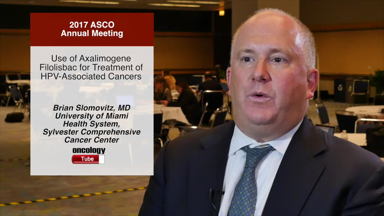 Use of Axalimogene Filolisbac for Treatment of HPV-Associated Cancers