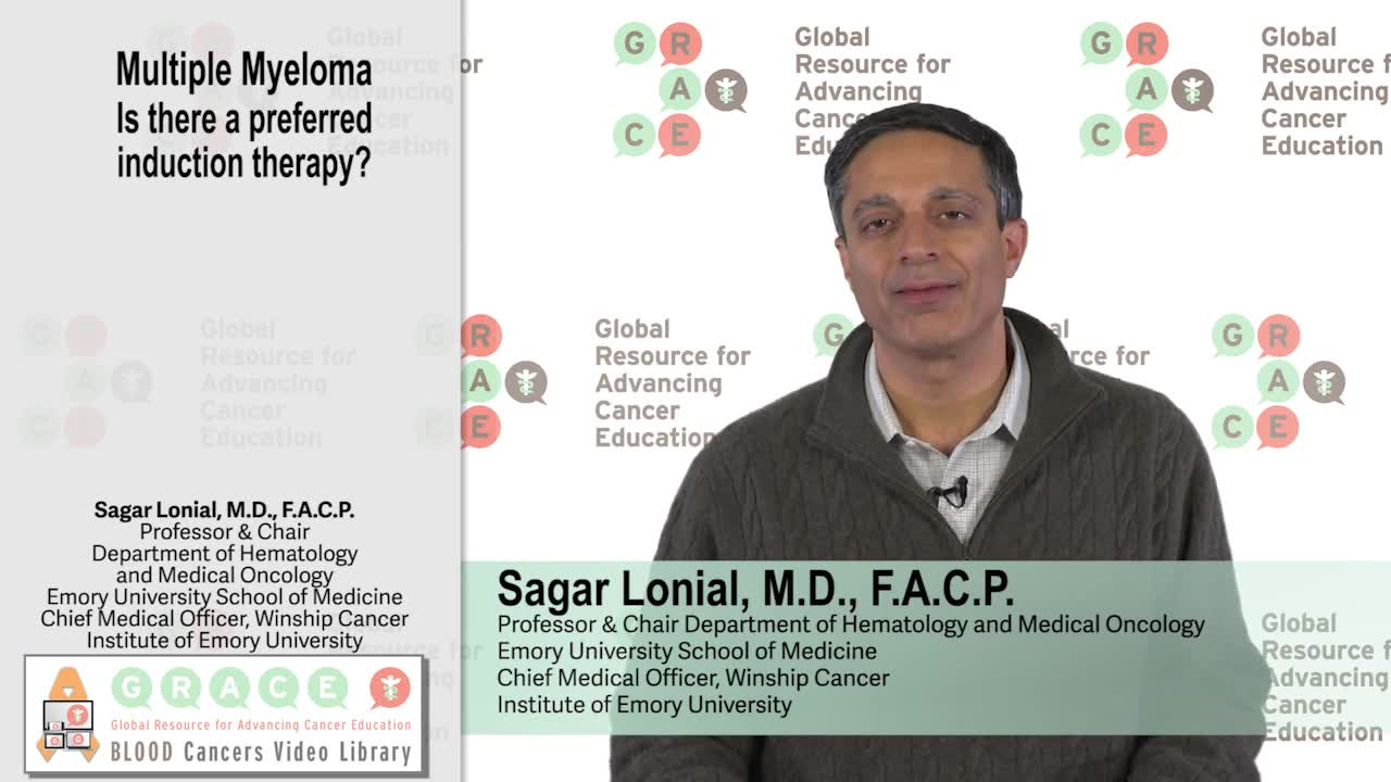 Multiple Myeloma - Is there a preferred induction therapy