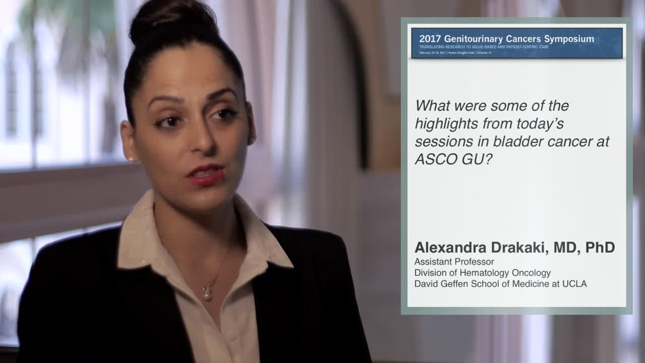 Annual Meeting GU 2017: Highlights in Bladder Cancer