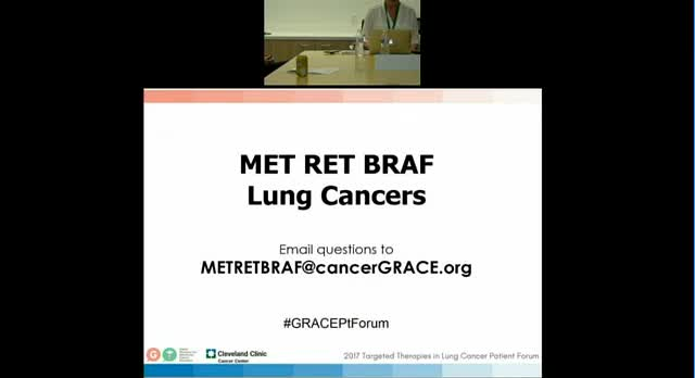 Targeted Therapies in Lung Cancer Patient Forum Breakout Met Raf Braf [360p]