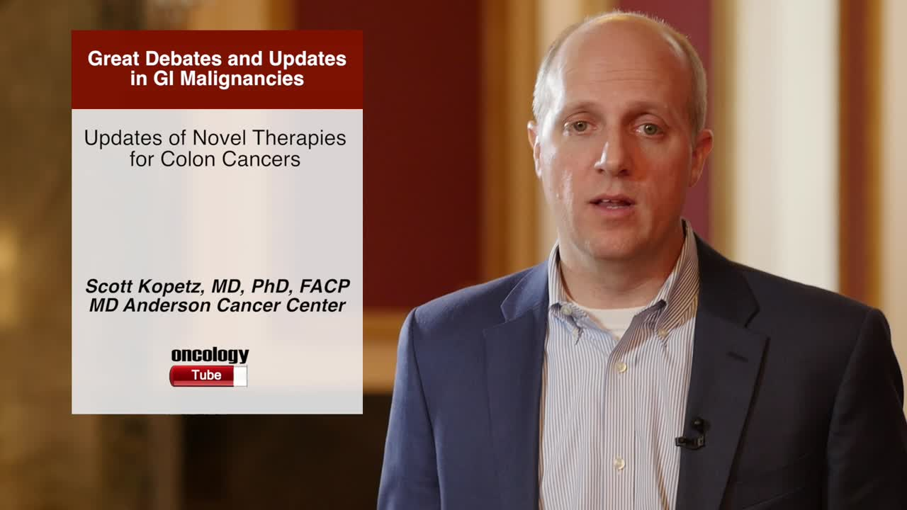 Updates of Novel Therapies for Colon Cancers