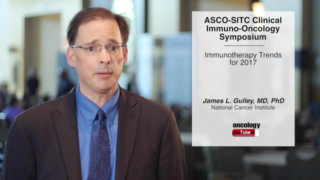 Annual Meeting-SITC 2017: Immunotherapy Trends for 2017