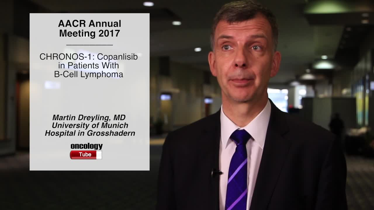 CHRONOS-1: Copanlisib in Patients With B-Cell Lymphoma