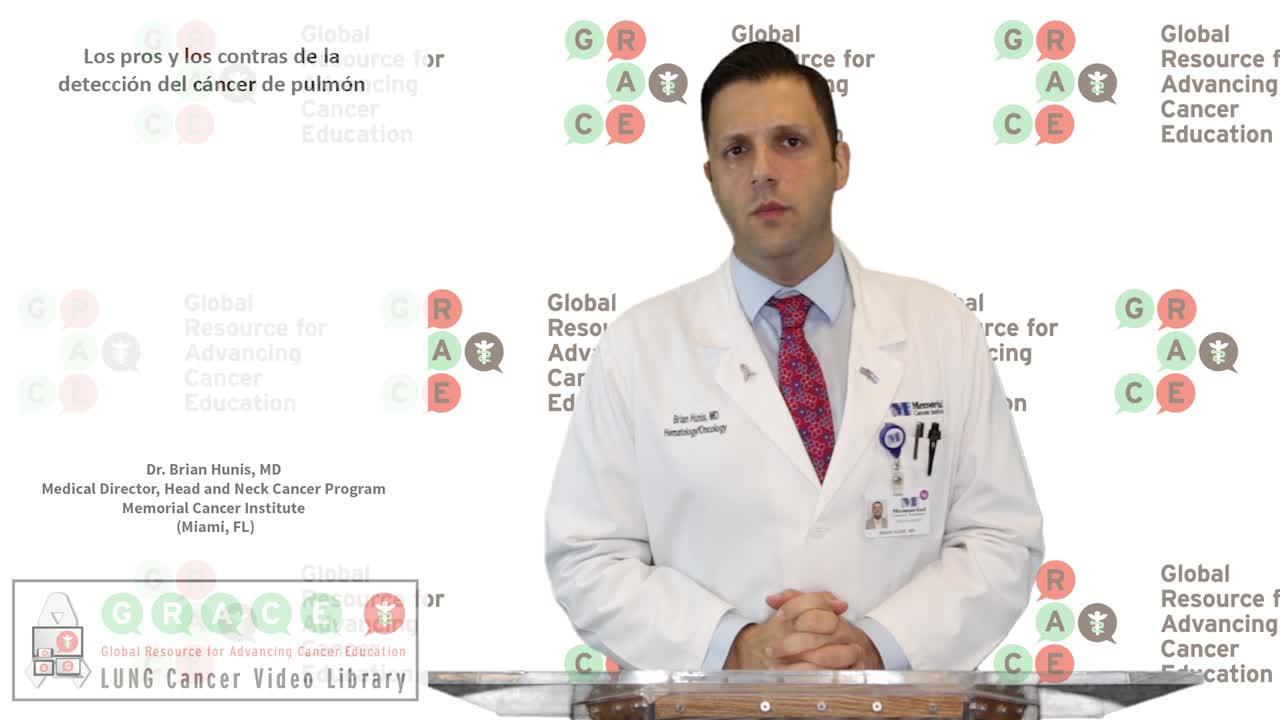 Los pros y los contras de la detencion del cancer de pulmón