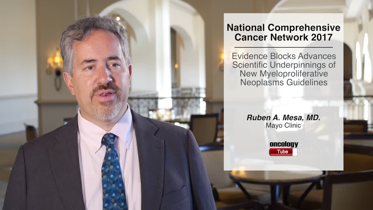 Evidence Blocks Advances Scientific Underpinnings of New Myeloproliferative Neoplasms Guidelines