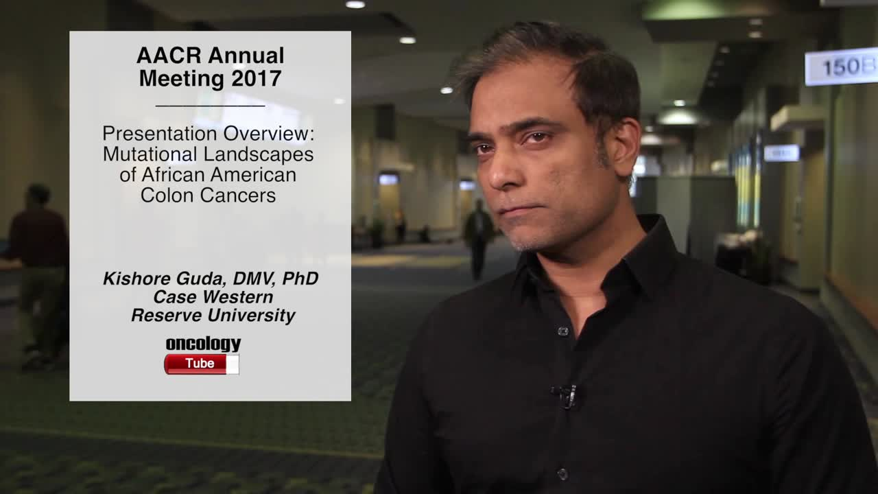 Presentation Overview: Mutational Landscapes of African American Colon Cancers