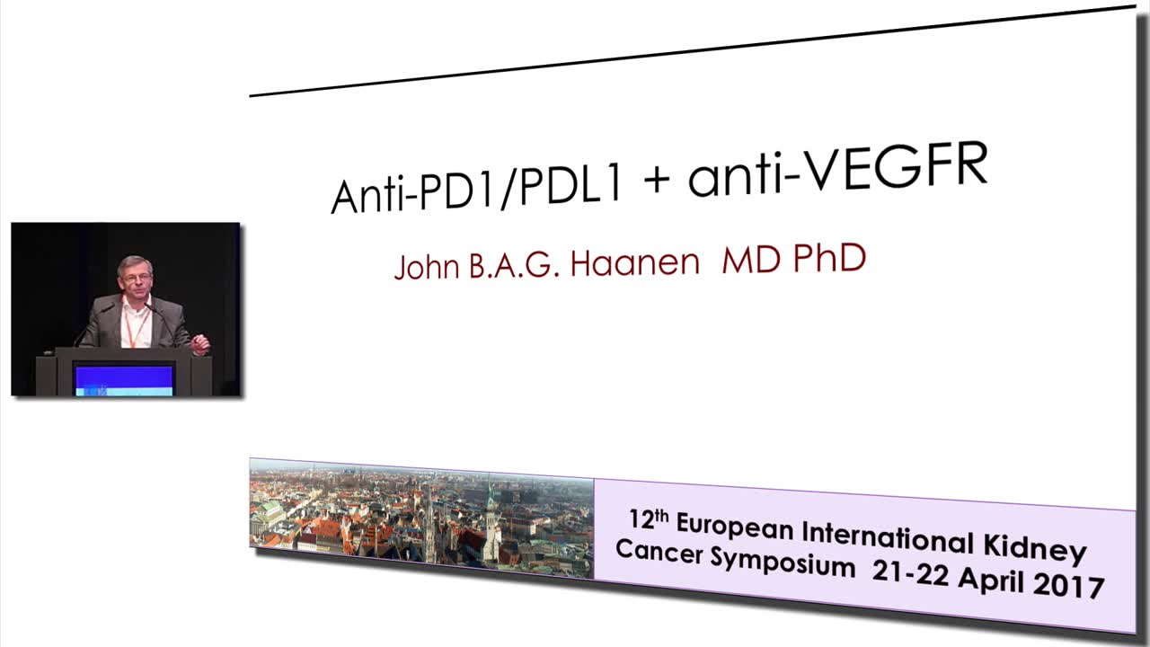 Anti-PD1 PDL1 + anti-VEGFR