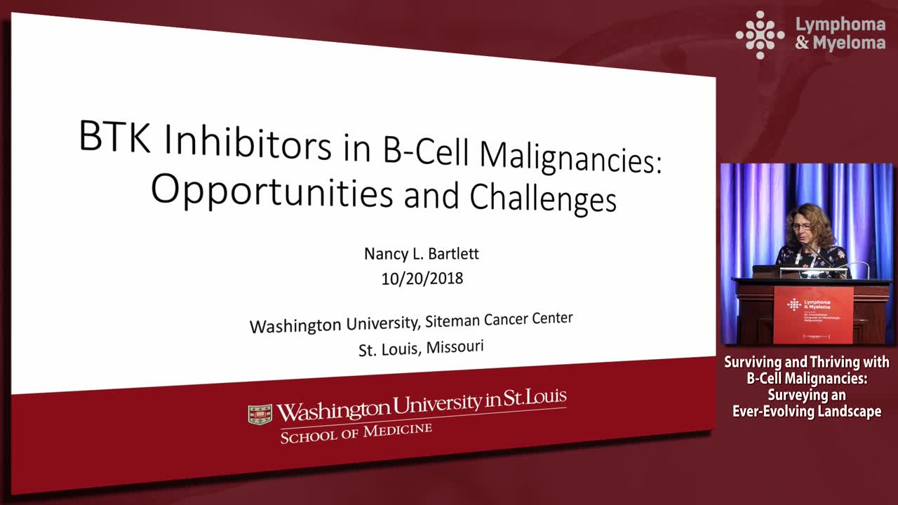 Kinase inhibitors for follicular and marginal zone lymphoma: Opportunities and challenges