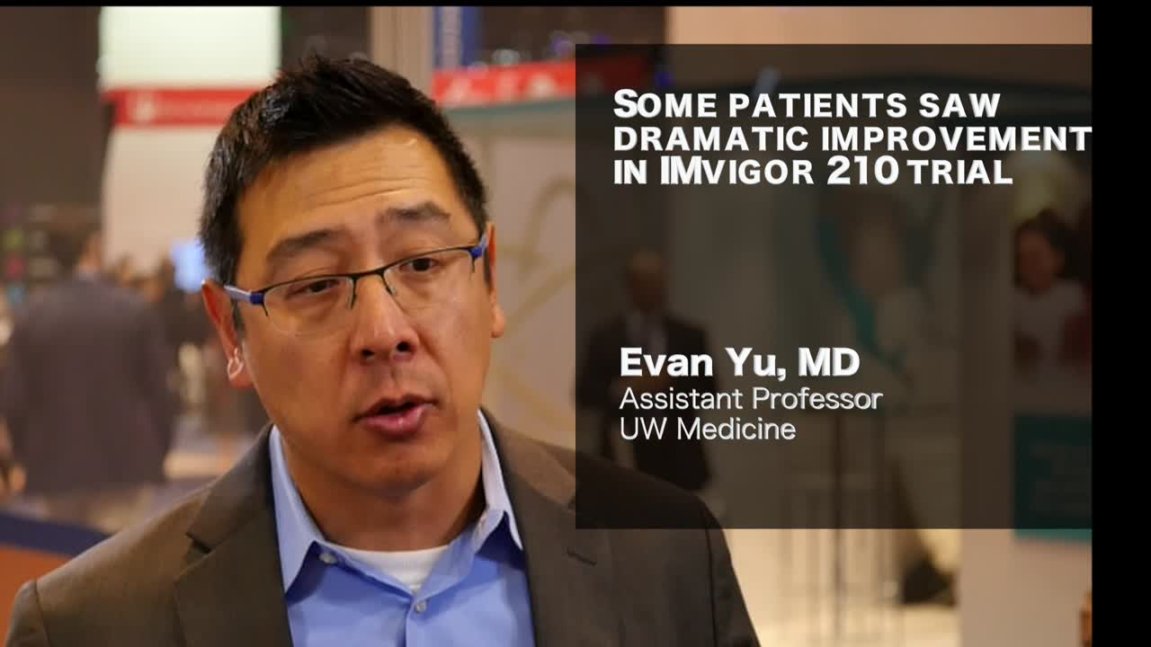 Some patients saw dramatic improvement in IMvigor 210 trial