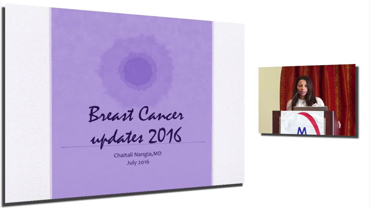 Annual Meeting 2016: Breast Cancer updates 2016