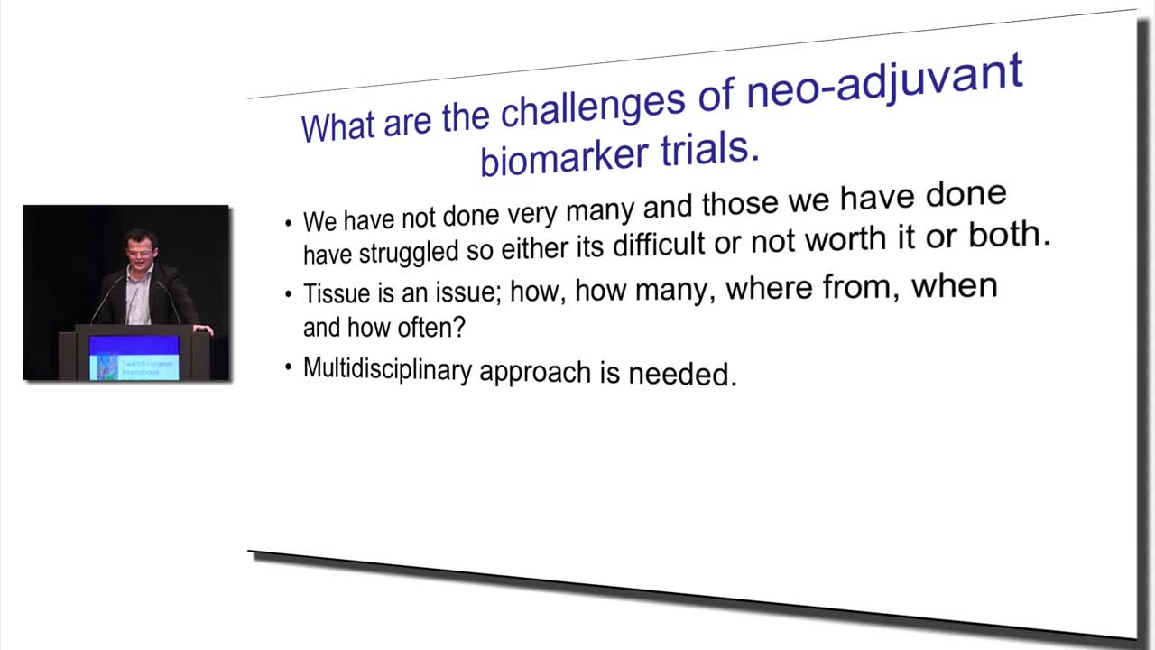 Challenges in Neoadjuvant Biomarker Trials