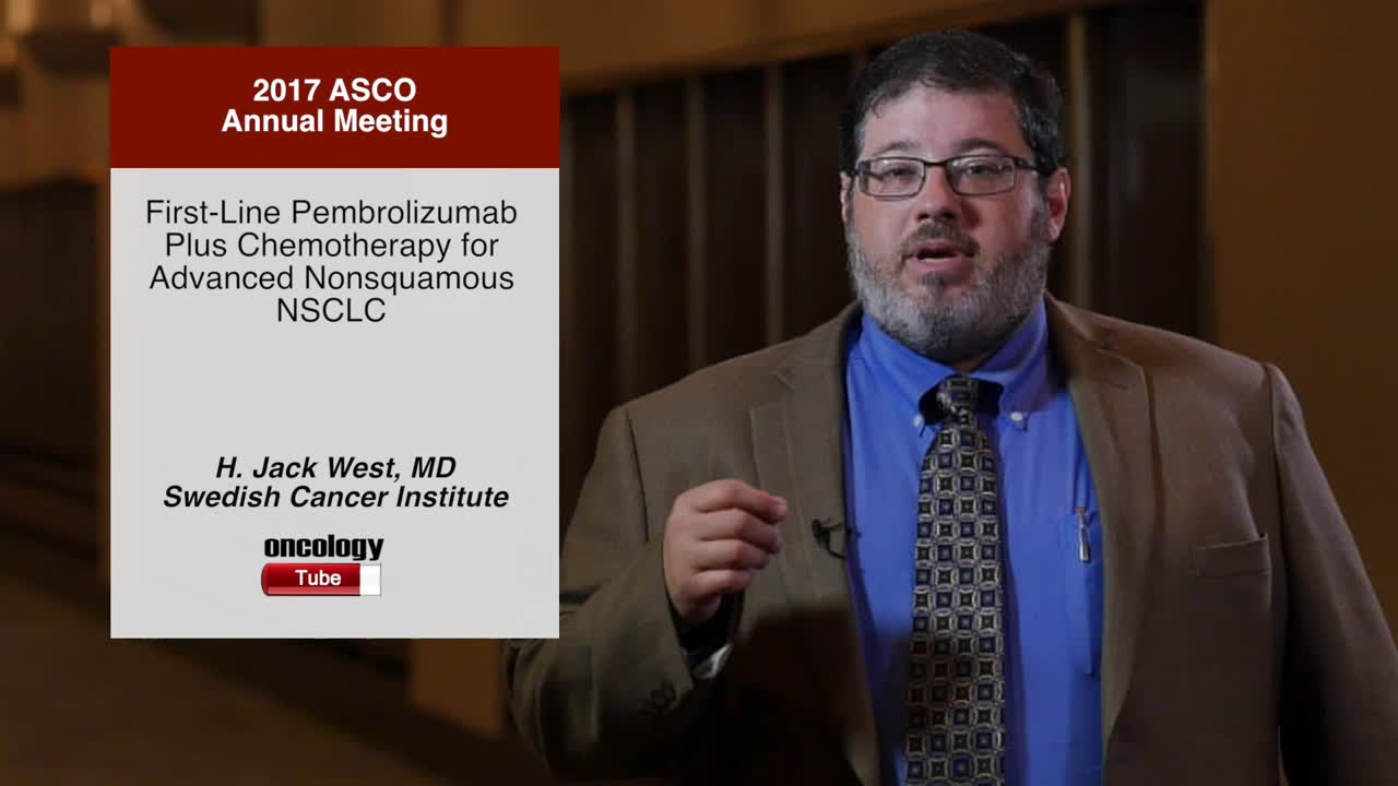 First-Line Pembrolizumab Plus Chemotherapy for Advanced Nonsquamous NSCLC