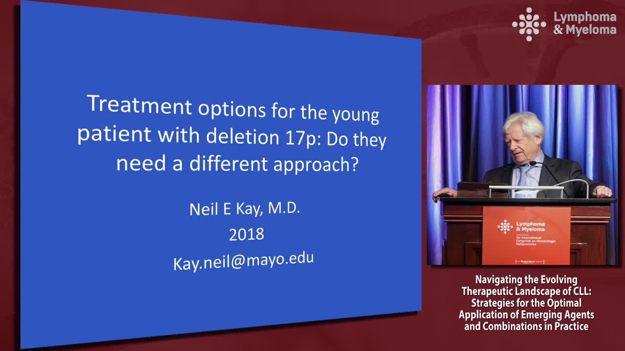 Treatment options for the young CLL patient with deletion 17p: Do they need a different approach?