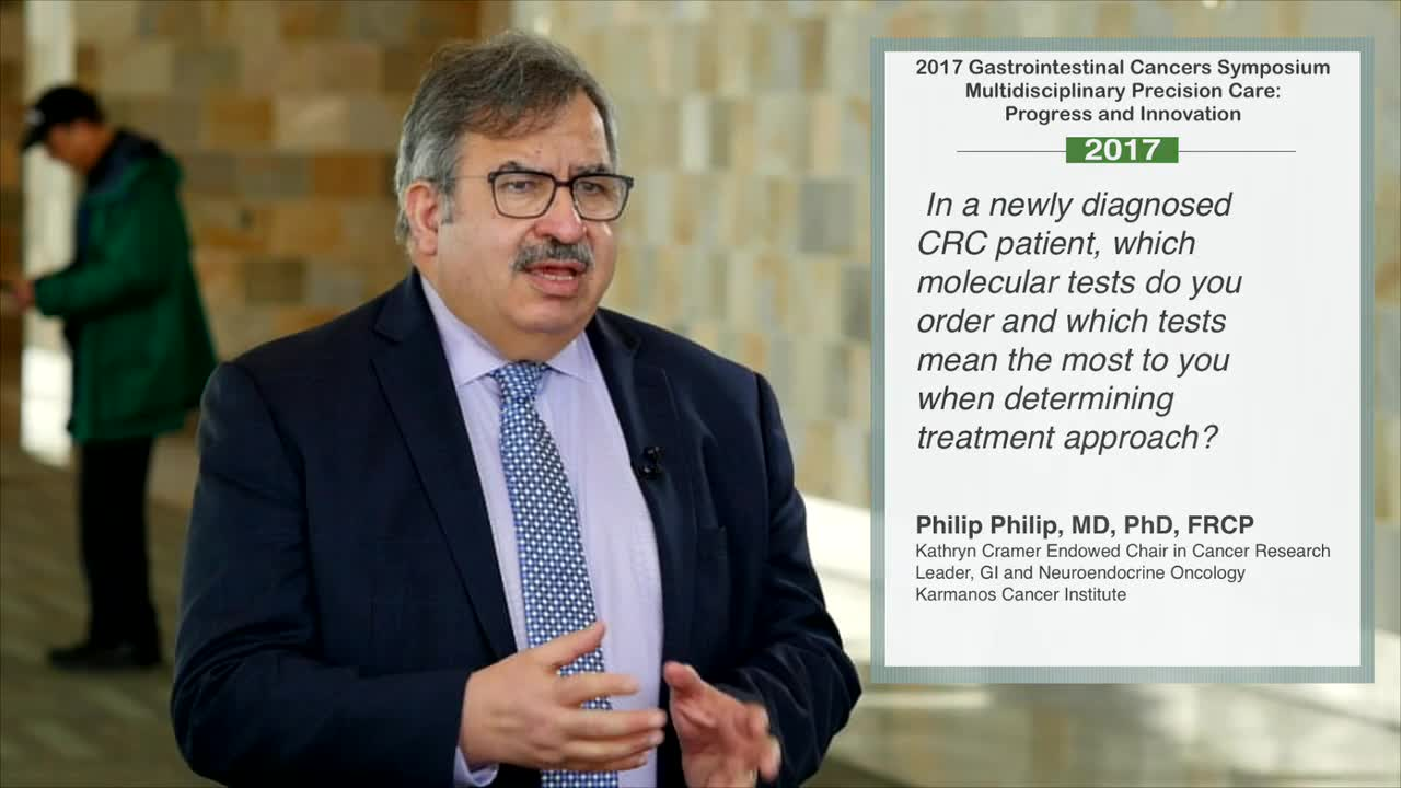 Which Molecular Tests are Most Important for Treating CRC Patients