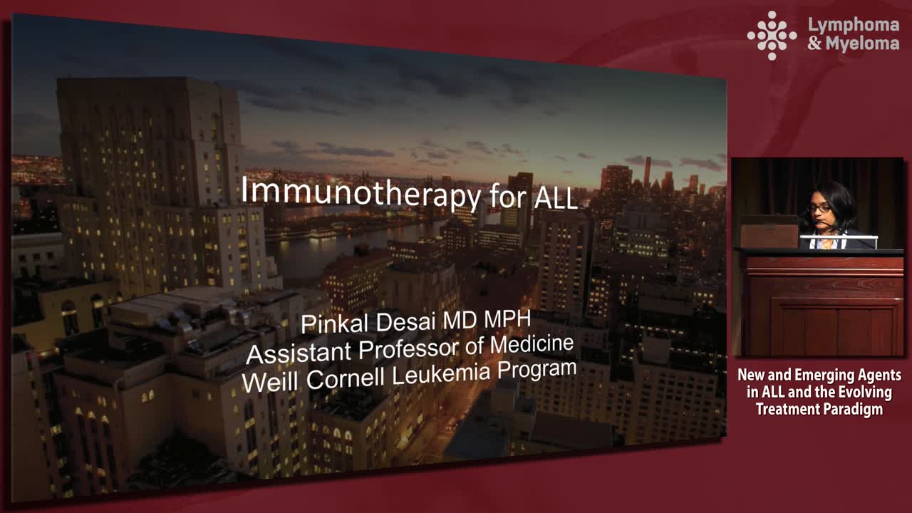 Immunotherapy of ALL