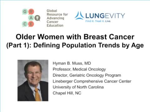 GRACEcast-128_Breast_Older Women with Breast Cancer Part 1 Defining Population Trends by Age