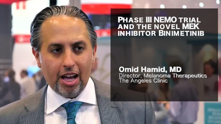 Phase III NEMO trial and the novel MEK inhibitor Binimetinib