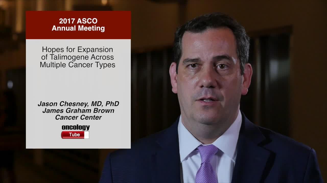 Hopes for Expansion of Talimogene Across Multiple Cancer Types