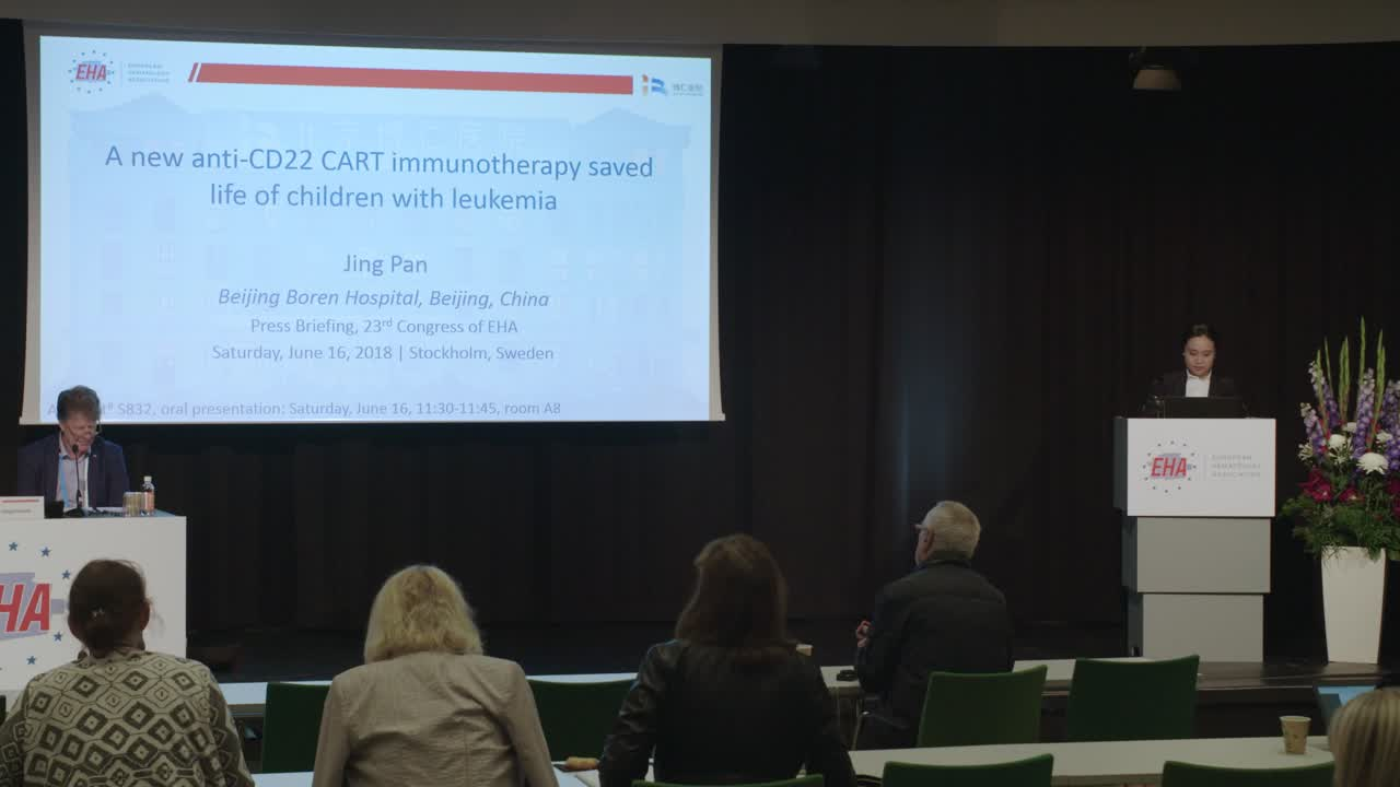 New CD22 CAR T-cells for pediatric R/R B-ALL is highly effective