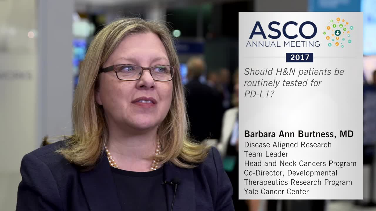Should H&N patients be routinely tested for PD-L1?