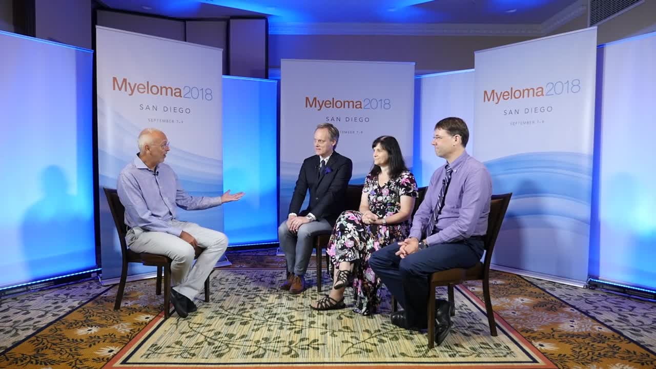 Immunotherapy of myeloma: BCMA/SLAMF7 CAR T-cells & BiTEs