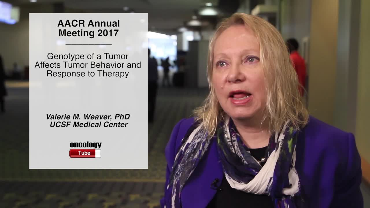 Genotype of a Tumor Affects Tumor Behavior and Response to Therapy