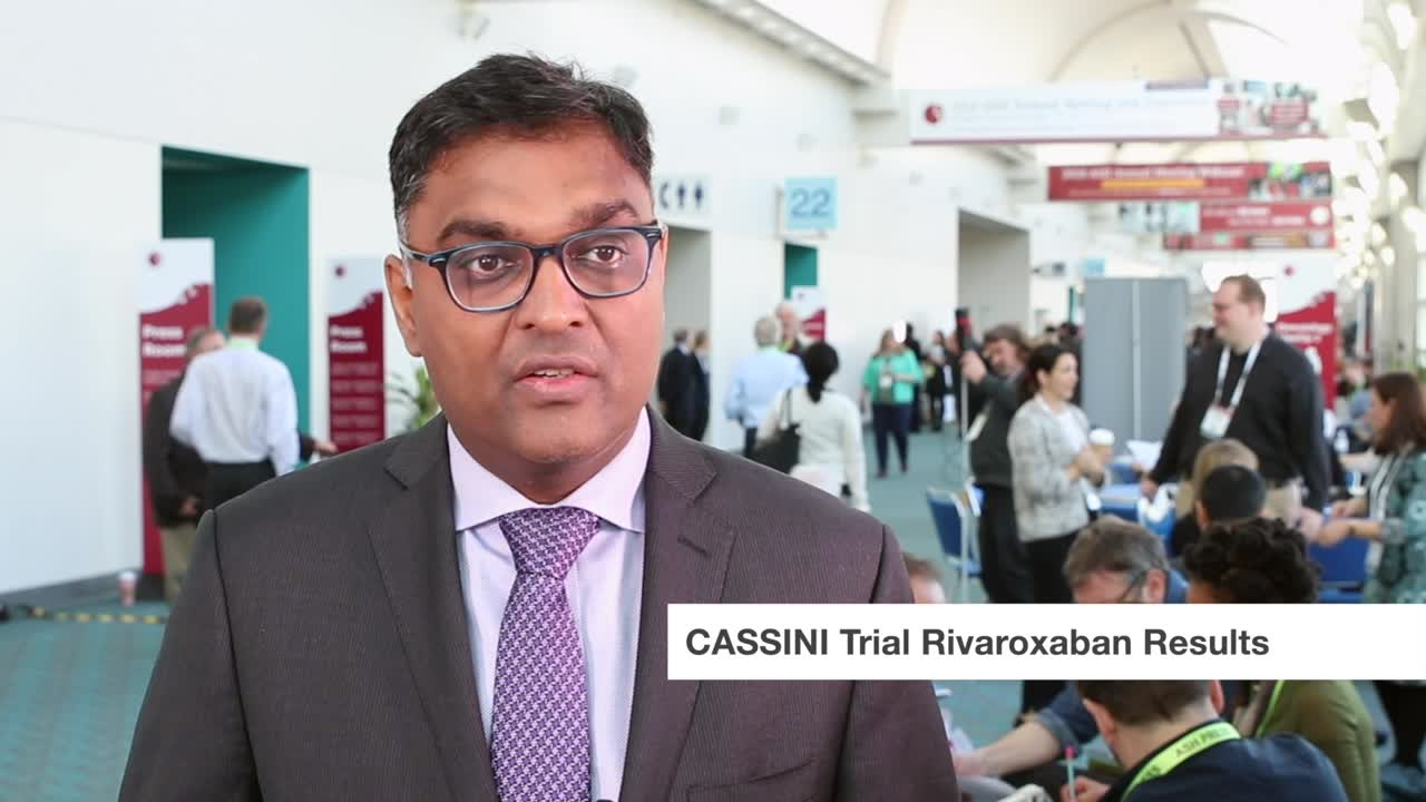 CASSINI Trial Rivaroxaban Results