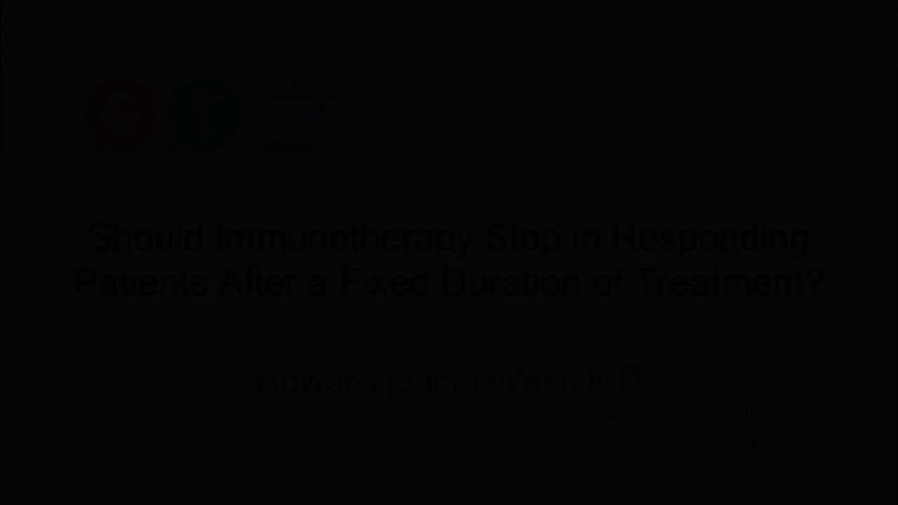 Should Immunotherapy Stop in Responding Patients After a Fixed Duration of Treatment_ [720p]