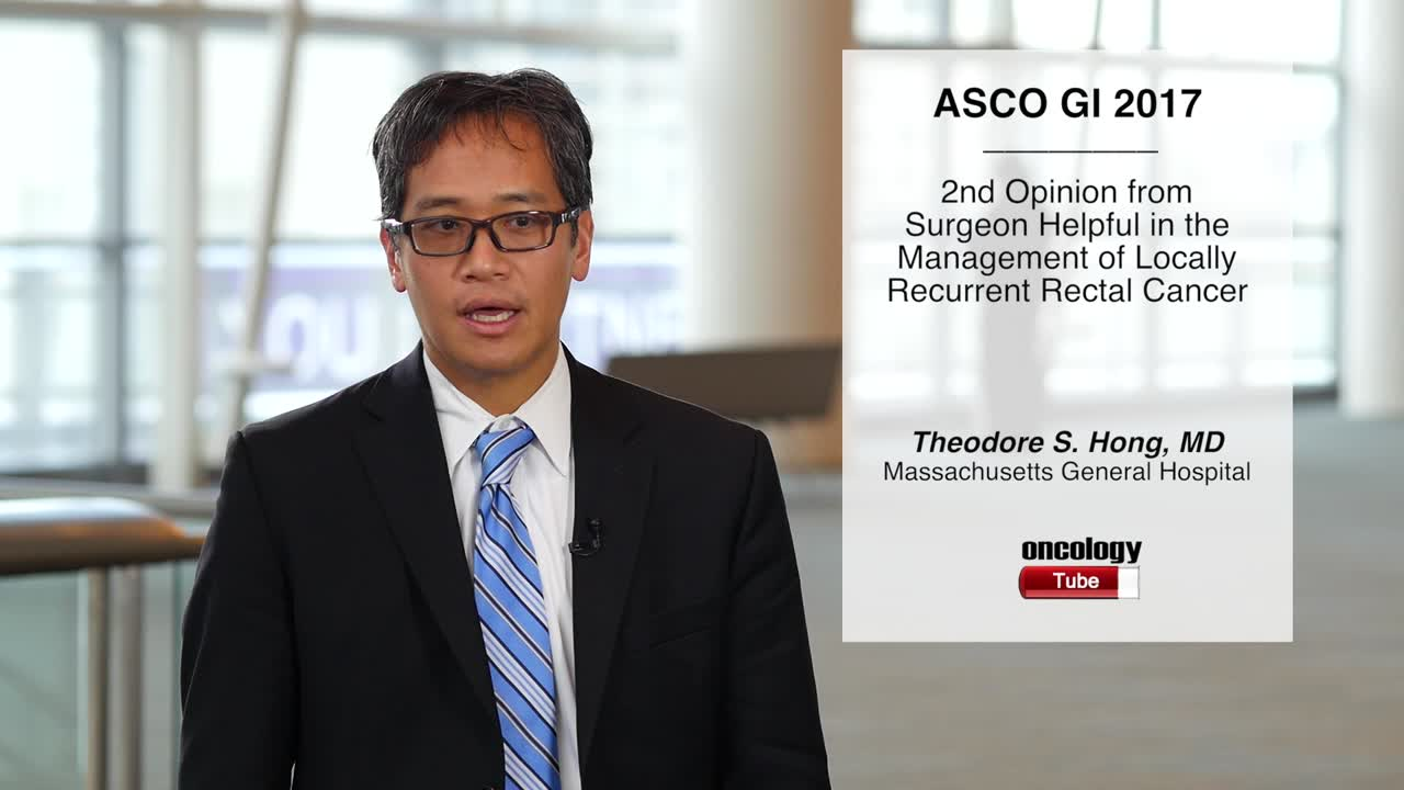 2nd Opinion from Surgeon Helpful in the Management of Locally Recurrent Rectal Cancer