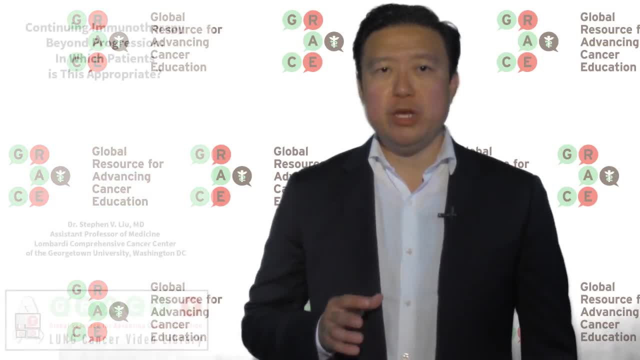 Continuing Immunotherapy Beyond Progression. In Which Patients Is This Appropriate [720p]