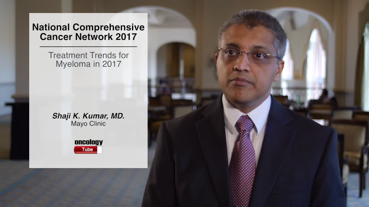 Treatment Trends for Myeloma in 2017