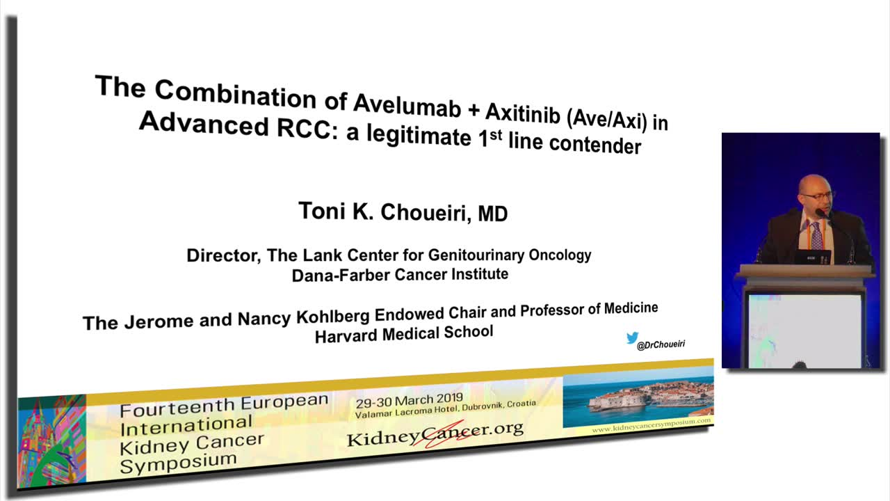 The Combination of Avelumab + Axitinib (Ave/Axi) in Advanced RCC: a legitimate 1st line contender
