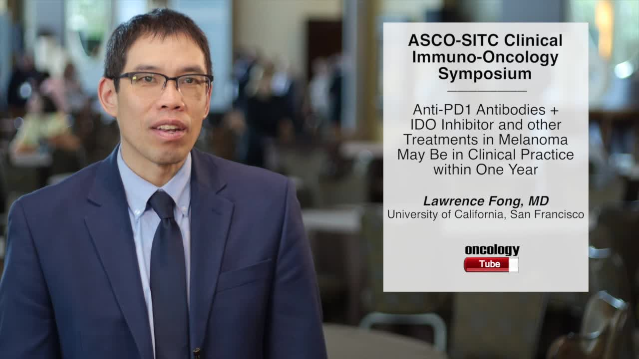 Anti-PD1 Antibodies + IDO Inhibitor and Other Treatments in Melanoma May Be in Clinical Practice within One Year