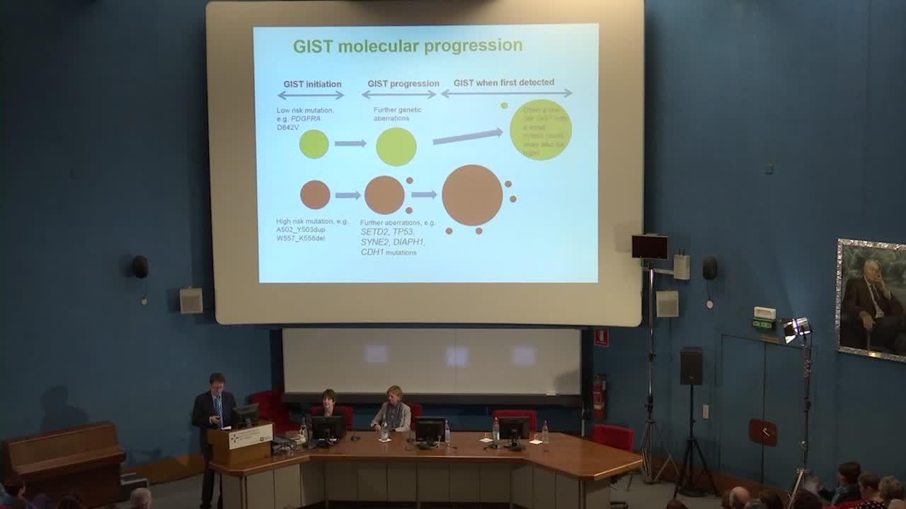 Sabato 16 aprile 2016 A.I.G. Associazione Italiana GIST Onlus Intervento Dottor Heikki Joensuu 2ndama parte