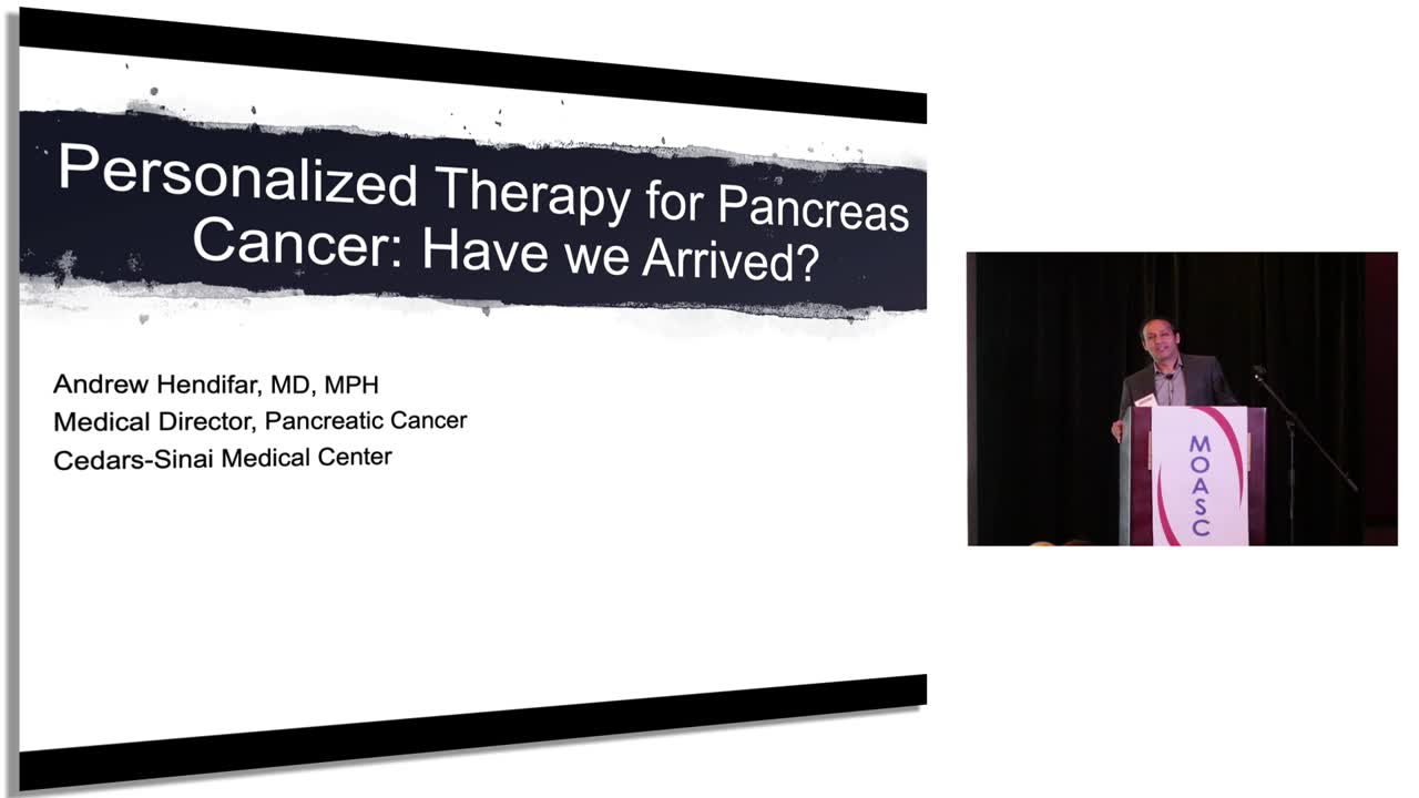 Personalized Therapy For Pancreas Cancer: Have We Arrived?