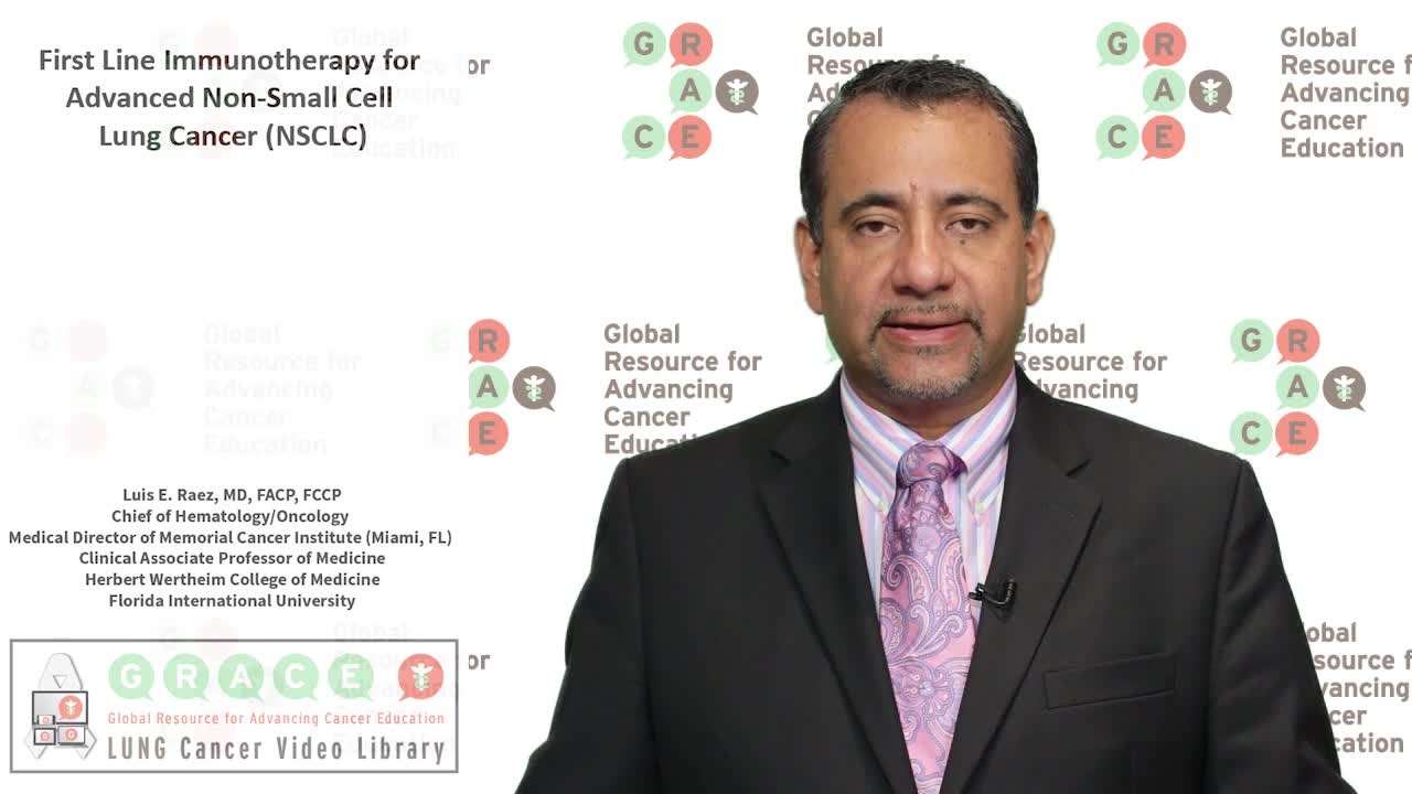 First Line Immunotherapy for Advanced Non Small Cell Lung Cancer NSCLC [720p]